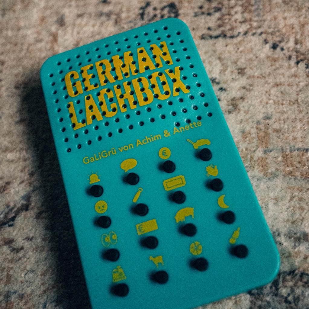 Kommerz mit Herz German Lachbox Soundbox