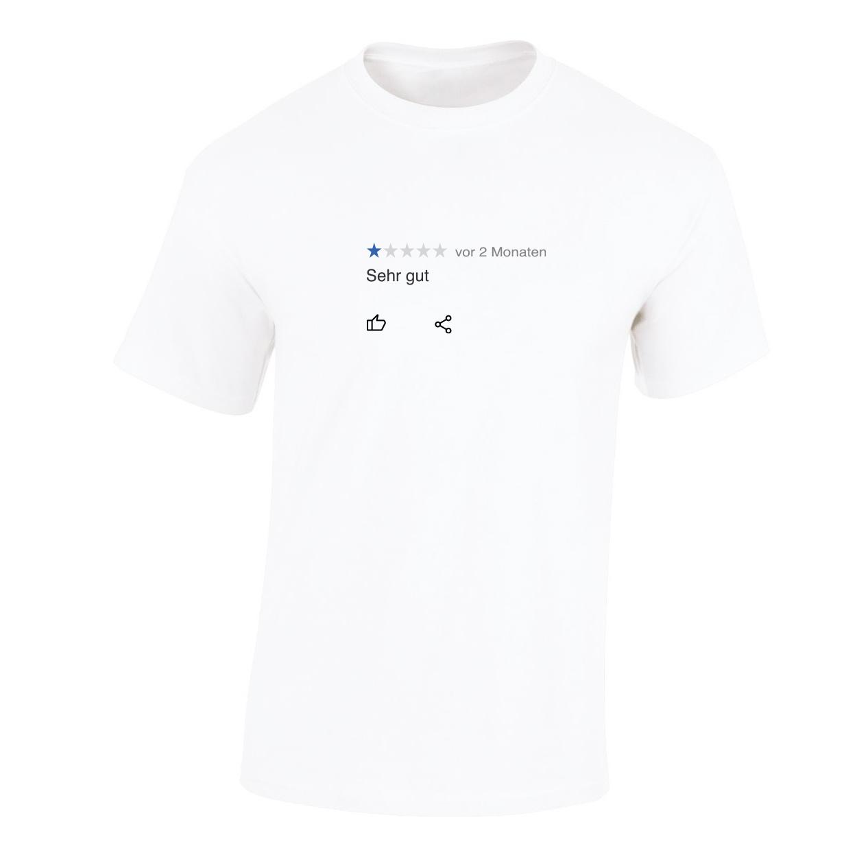 """Kommerz mit Herz T-Shirt """"German Dankbarkeit"""" Shirt Weiss"""