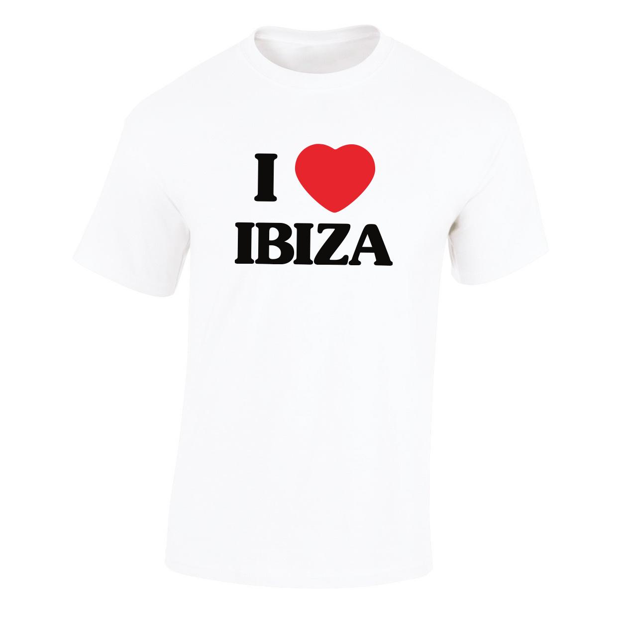 Kommerz mit Herz Ibiza Shirt Weiss